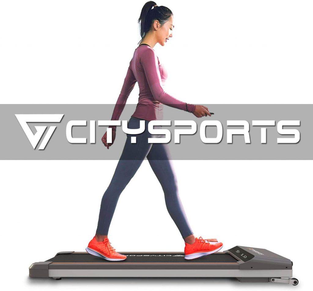 CITYSPORTS Motorised Walking Treadmill