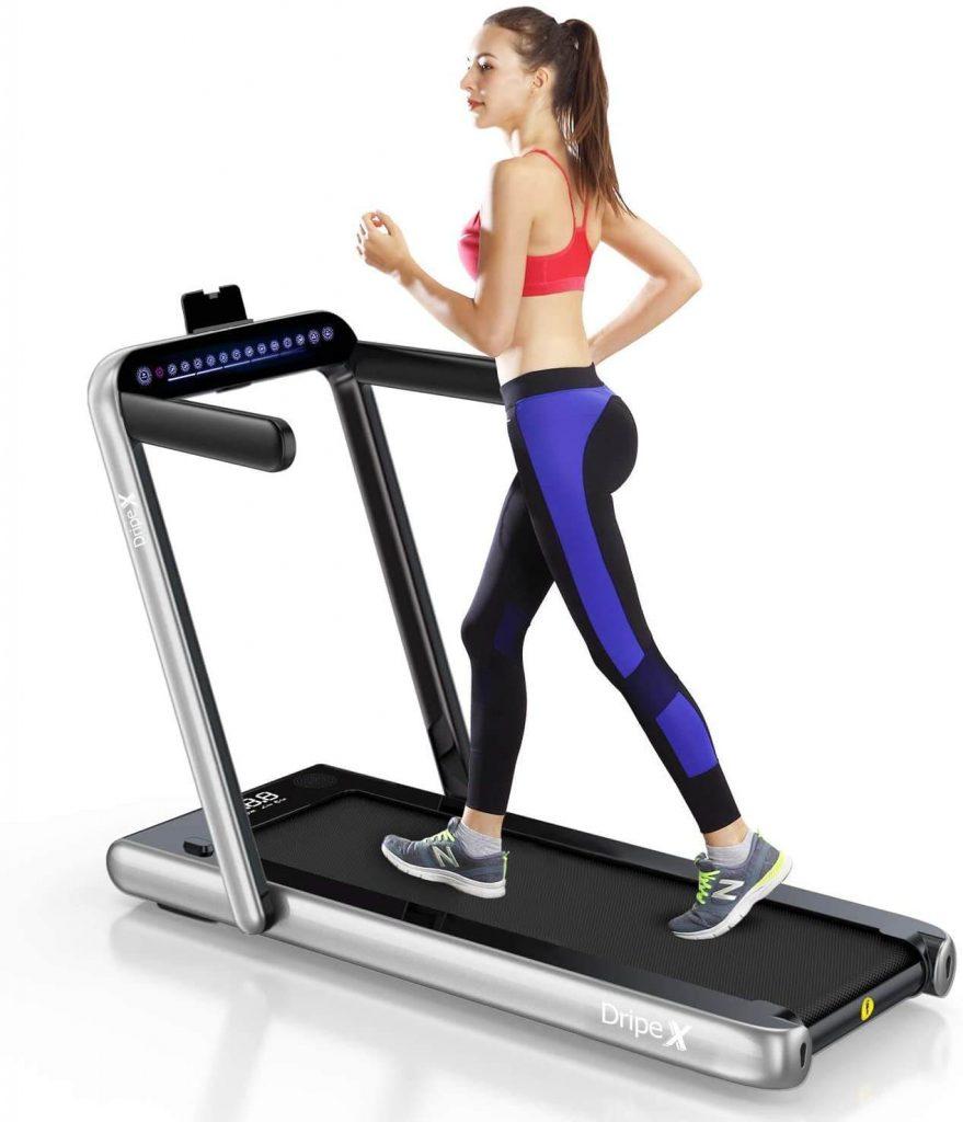 Dripex 2 in 1 Folding Treadmill