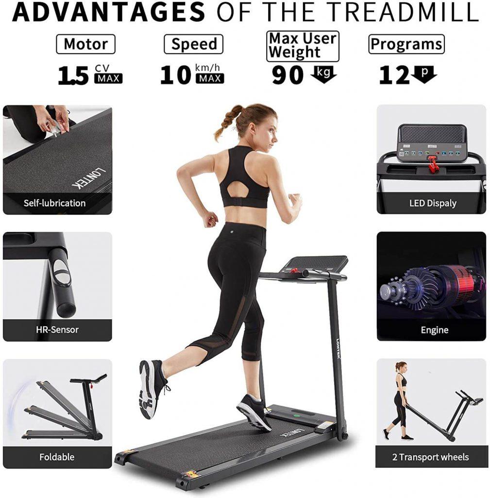 LONTEK Treadmill 2