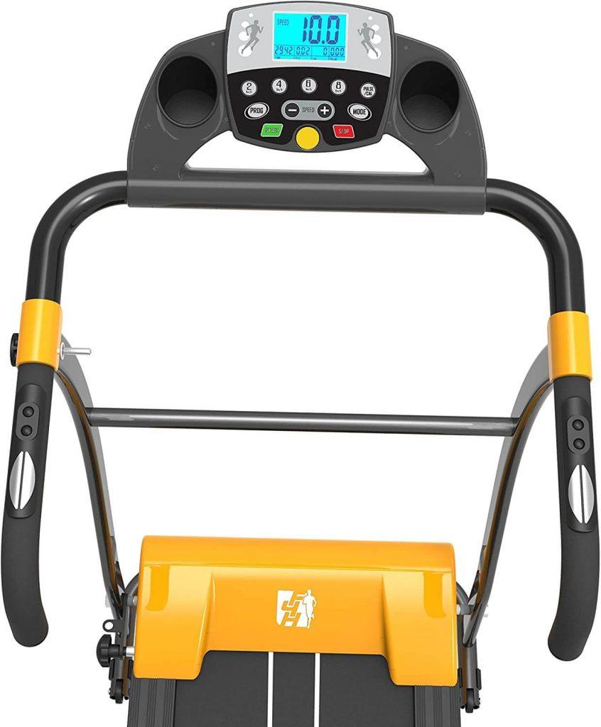 fit4home treadmill display