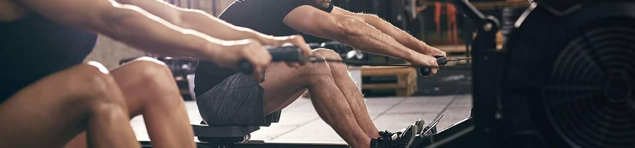 rowing machine vs spin bike