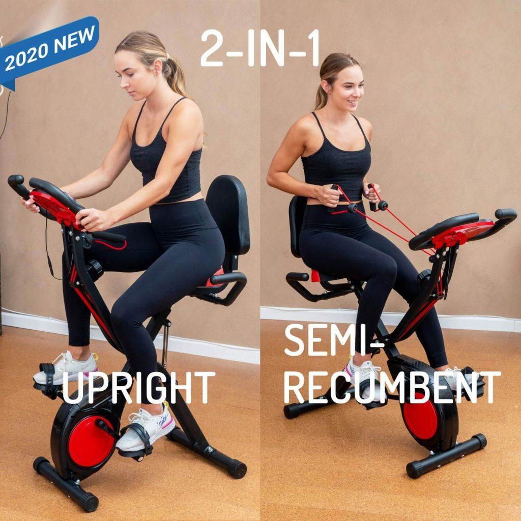 yyfitt home exercise bike features